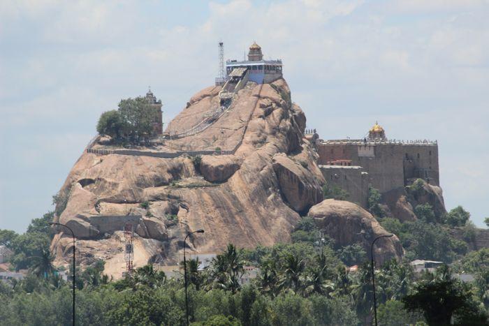 Thayumanaswami Temple - Rockfort Complex - Sangam Hotels